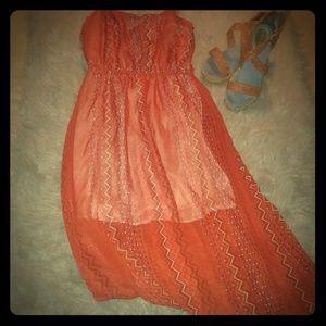 Orange Dress🌺
